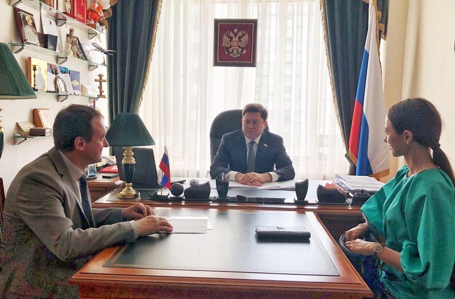 Рабочее совещание с представителями компании «ФОК»